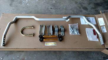 Whiteline BFR65Z Adjustable Rear Sway Bar Install &Review