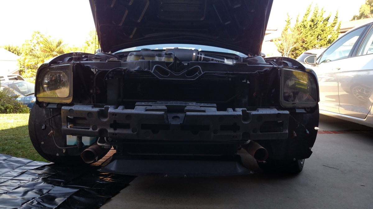 S197 Mustang Bumper Removal