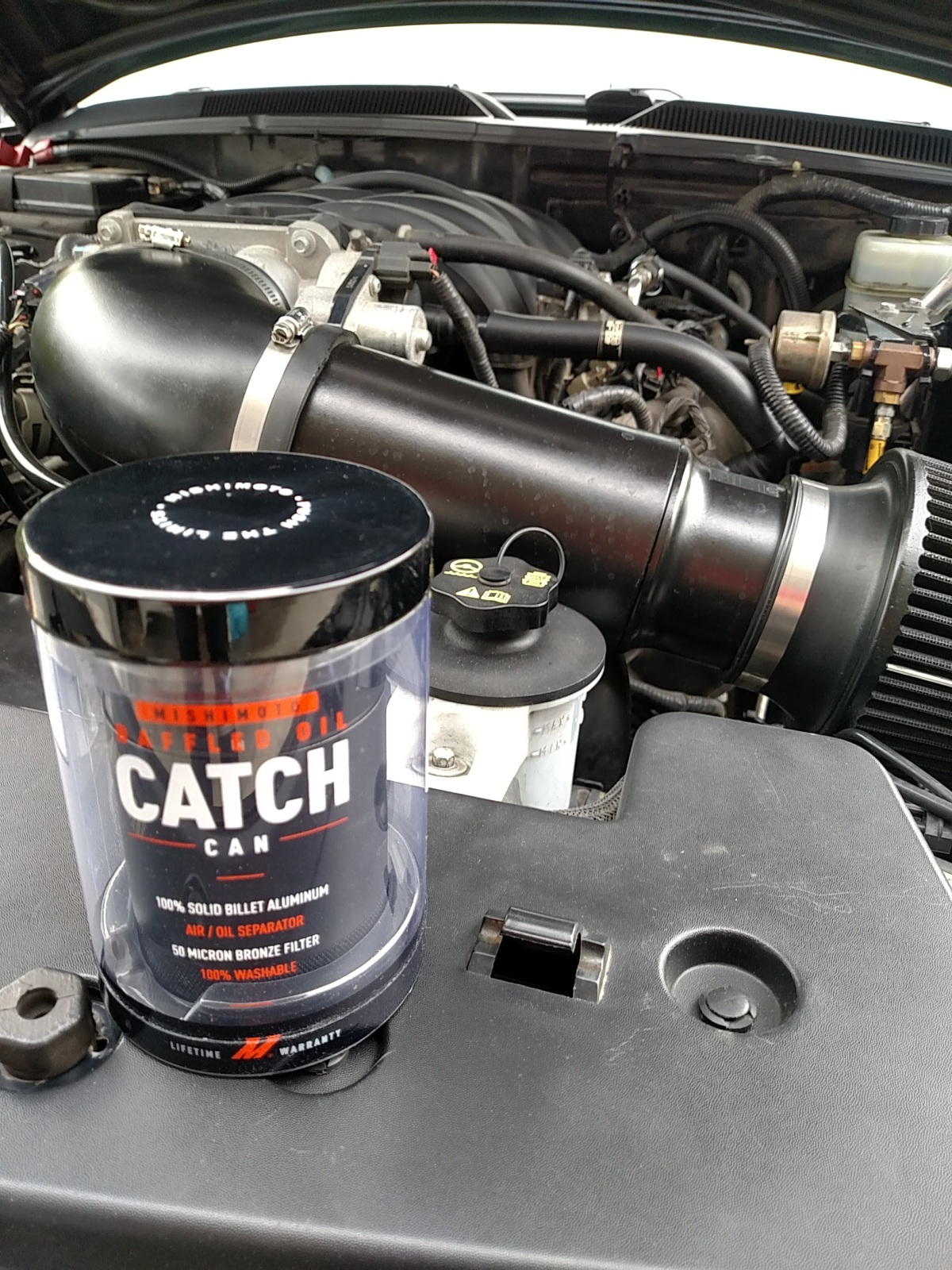 Mishimoto Catch Can Install andReview